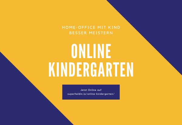 Superheldin Online Kindergarten